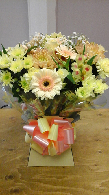Birthday aqua gift boxes north Bristol florist BB1
