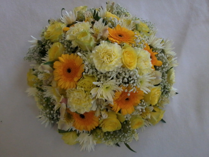 Celebrate with flowers congratulation posies Bristol florist CP2